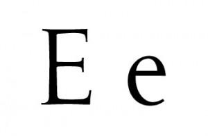 Palabras con E