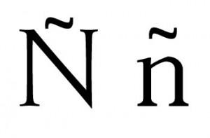 Imagen de la letra Ñ