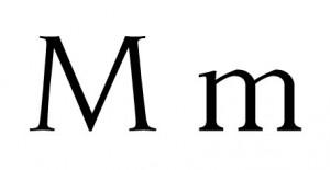 Palabras con M, Mariana, mercado, médico.