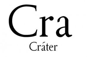 No existen muchas palabras con Cra