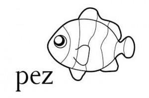 Pez es una palabra que se escribe con z.