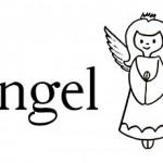 Ángel es una palabra de cinco letras